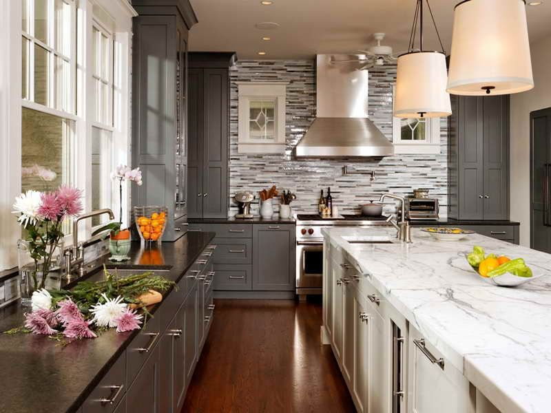 gray kitchen cabinets repainting ideas white gray kitchen cabinets idea fortikur home sweet on kitchen ideas gray id=29929