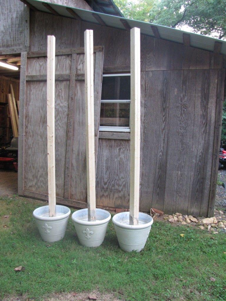 DIY: Hanging Outdoor String Lights- Living With color ... on Backyard String Lights Diy  id=19921