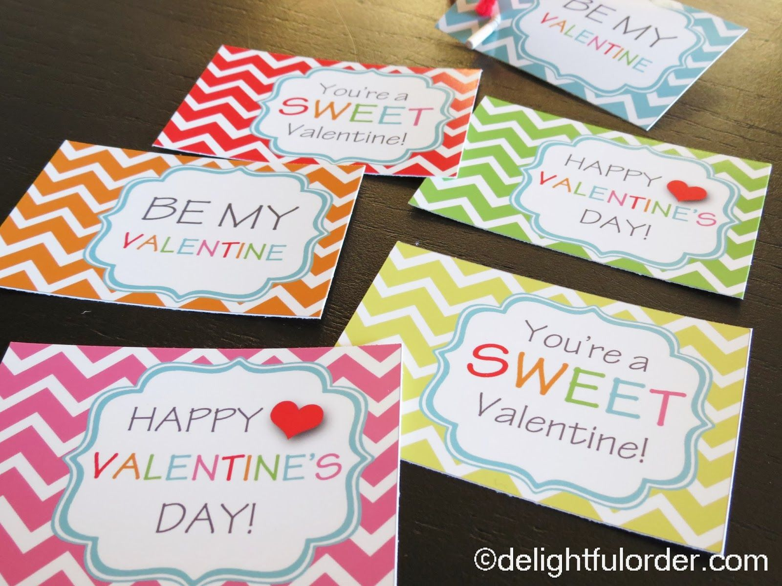 Delightful Order Free Printable Valentine S Day Tags