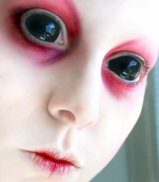 Creepy Alien Colored Contacts For Halloween My Style Pinterest Color Contacts Creepy And
