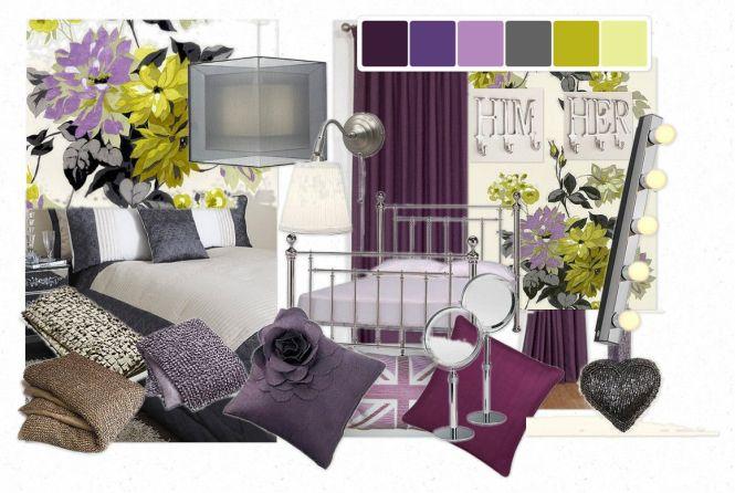Purple Gray And Yellow Bedroom Ideas Bedroom Style Ideas – Purple and Yellow Bedroom