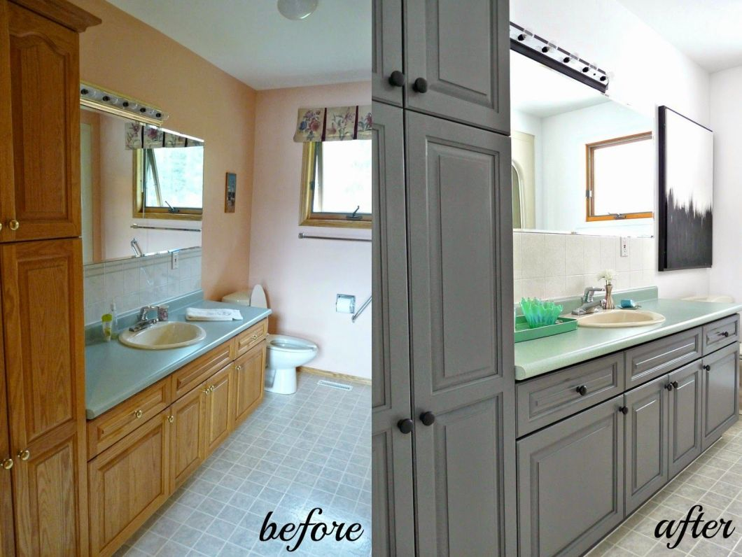Cabinet Refinishing 101 Latex Paint Vs Stain Rust Oleum Transformations