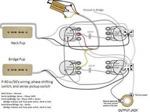P 90's pickups wiring diagrams  Yahoo Image Search Results | Guitar Wiring Diagrams | Pinterest