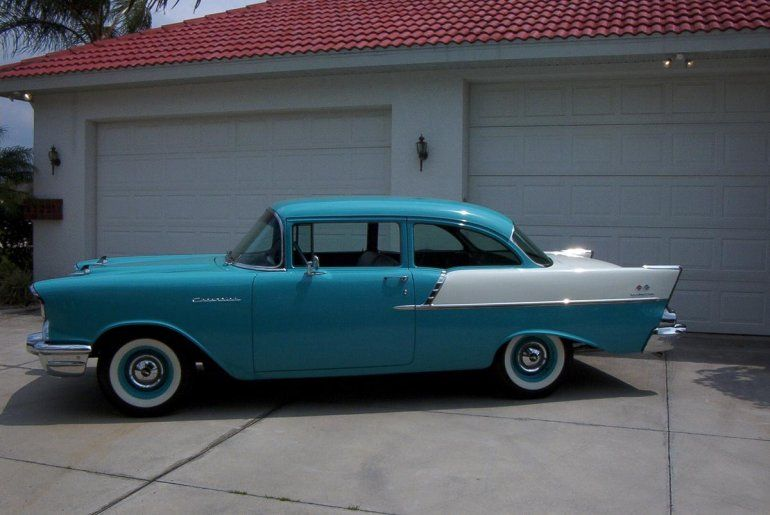 1957 Chevrolet 150             Classic Cars   Pinterest   1957 chevrolet     Hemmings Find of the Day     1957 Chevrolet 150