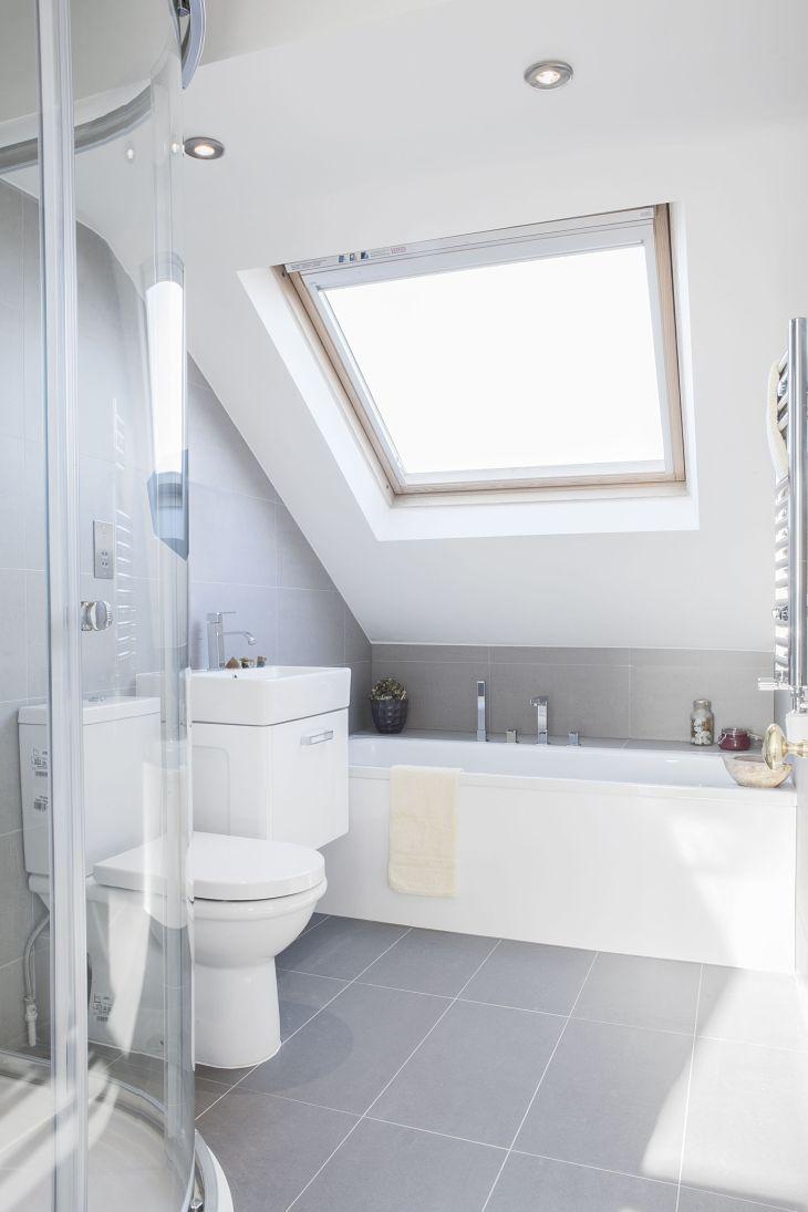 Bathroom Loft conversion  BuR house  Pinterest  Lofts Attic and