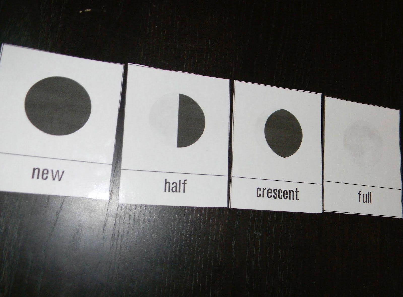 Moon Phases Activities For Preschoolers
