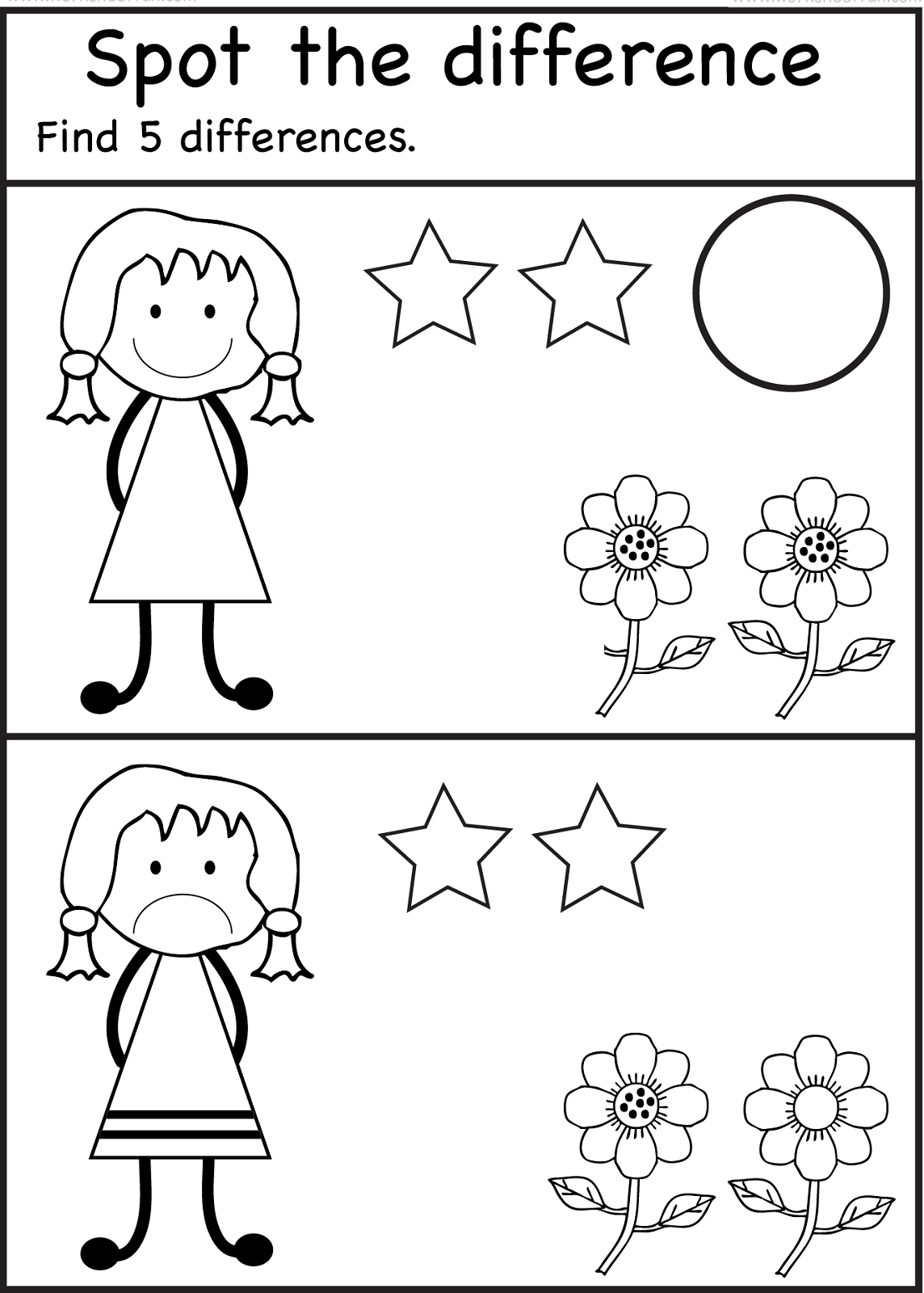 Everyone Is Different Worksheet