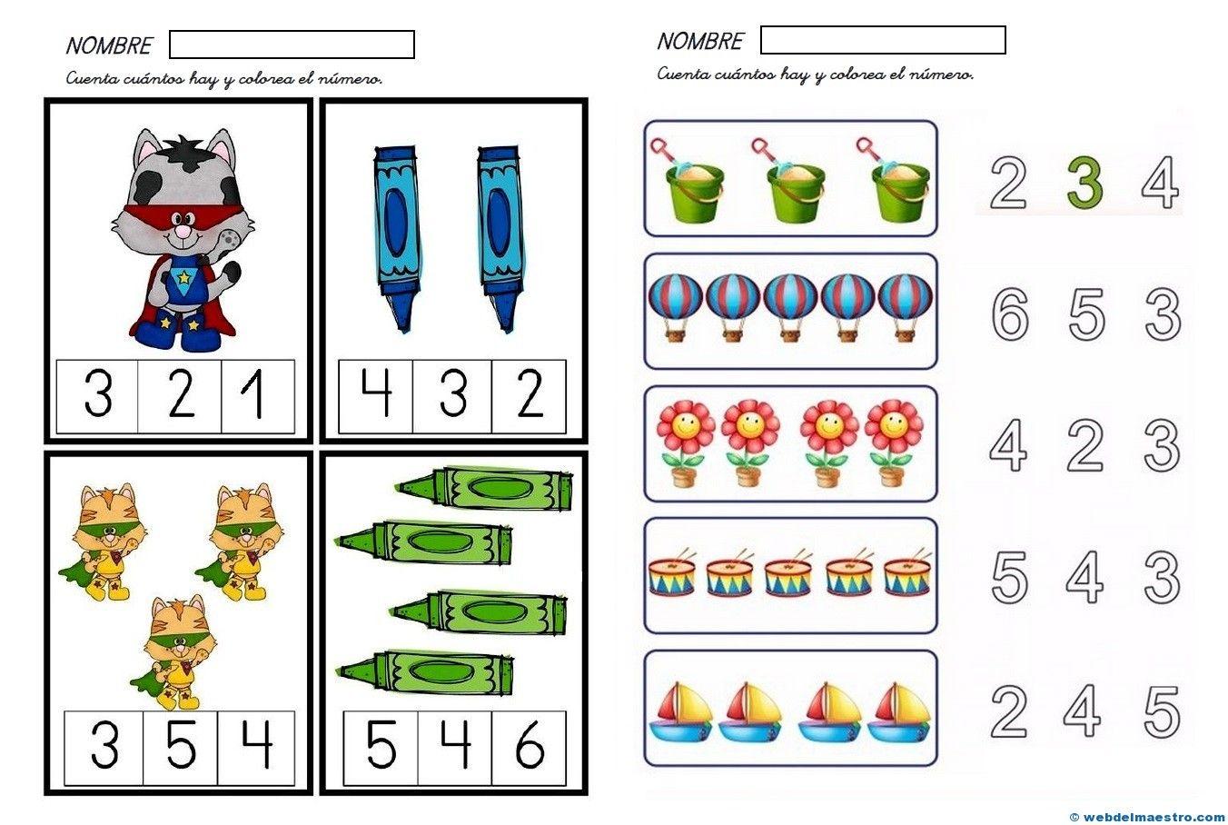 Fichas De Matematicas Infantil 1