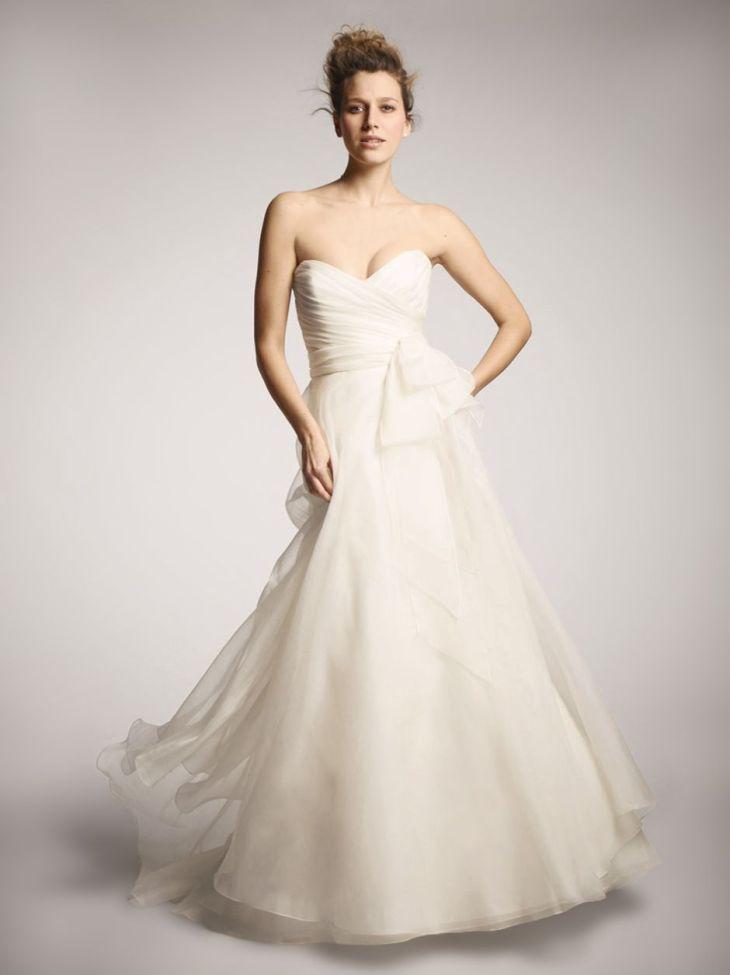 NOUVELLE Amsale Aline ballgown exclusively at Nordstrom wedding