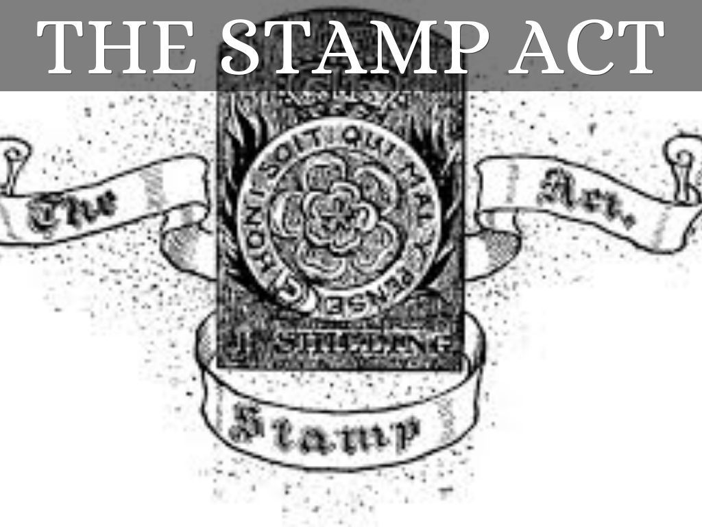 In The Stamp Act Was Created This Act Said That Any