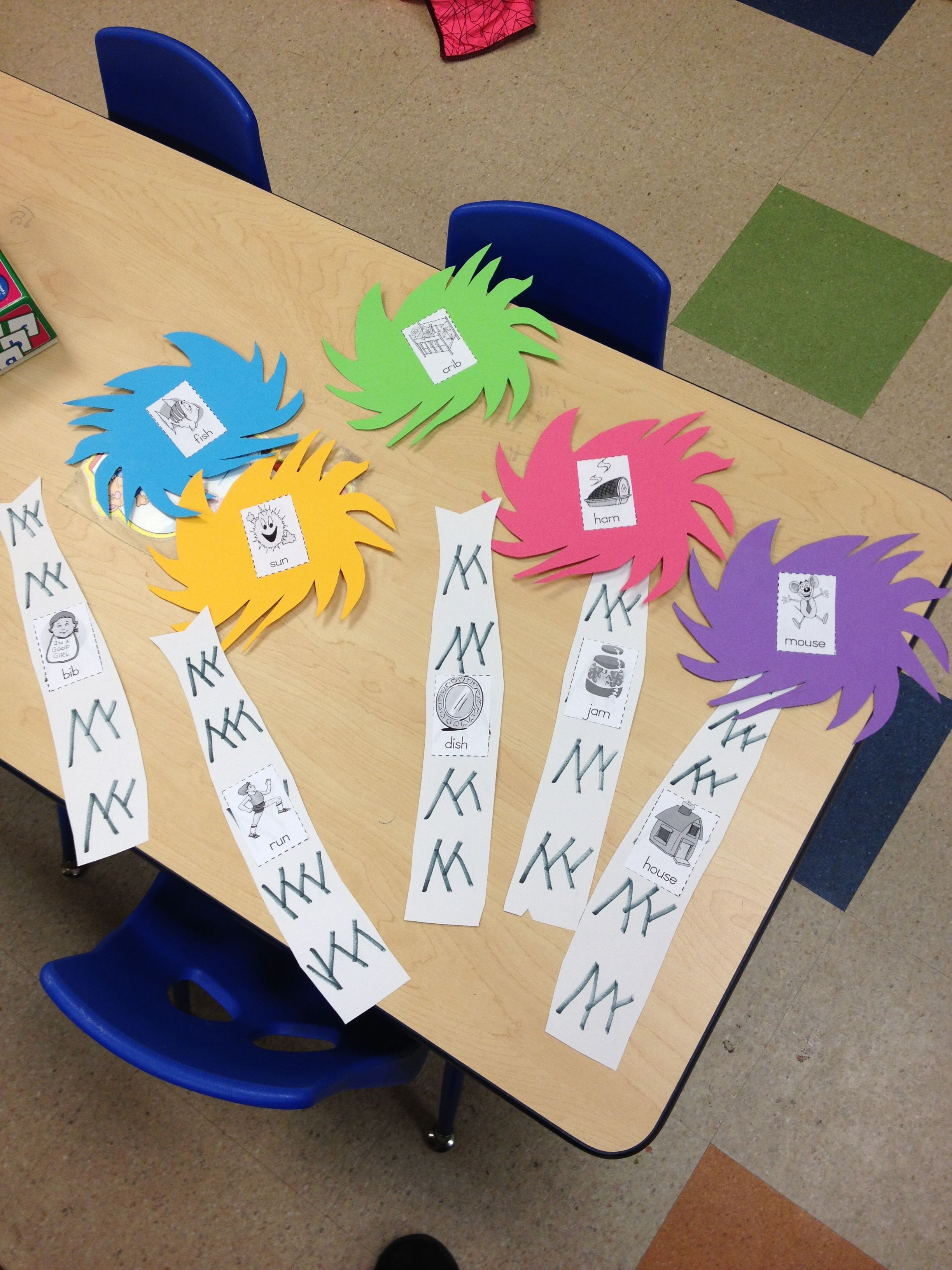 Rhyming Truffula Trees For Pre K Inspired By Dr Seuss The Lorax