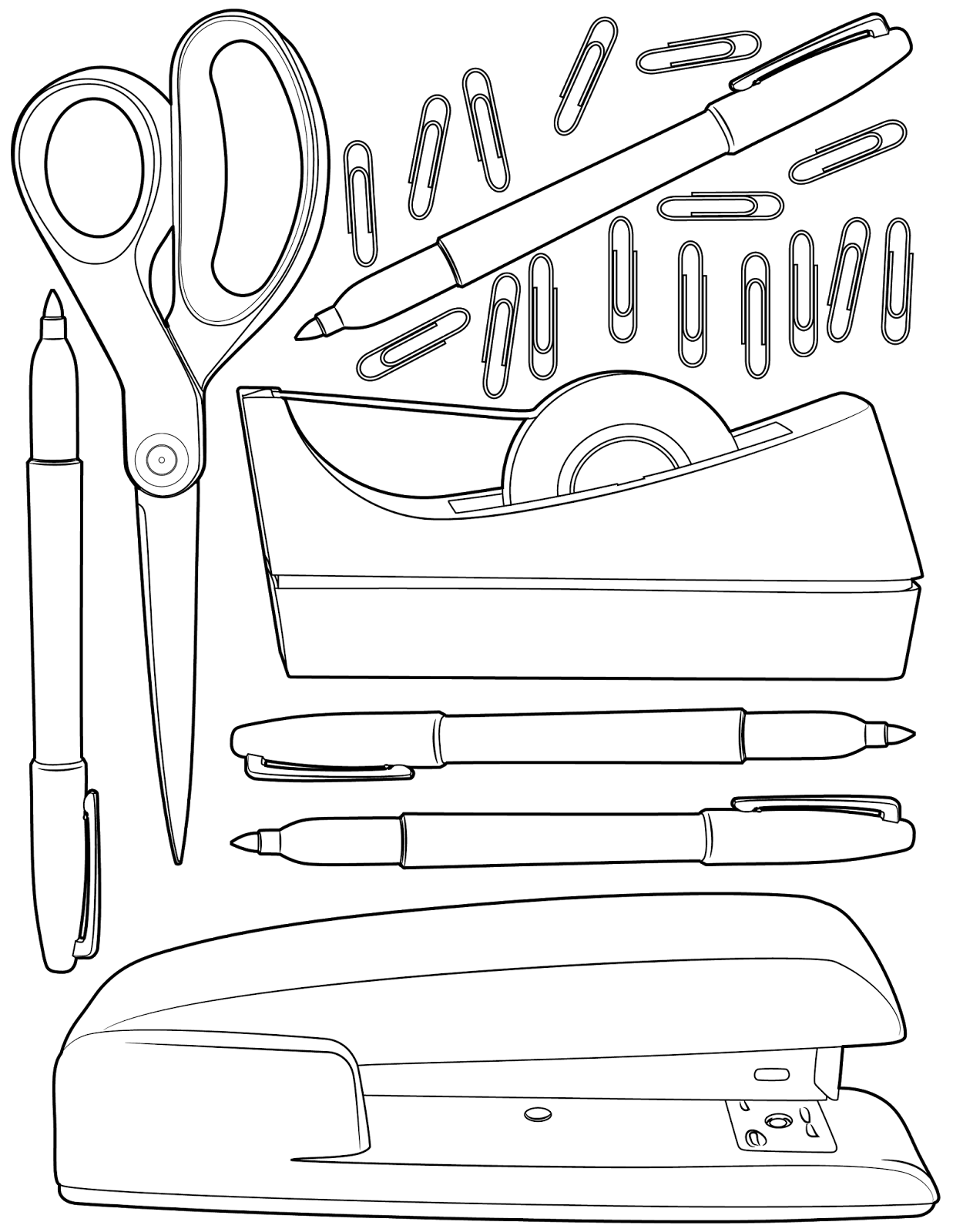 The Spinsterhood Diaries Sunday Coloring Page Office