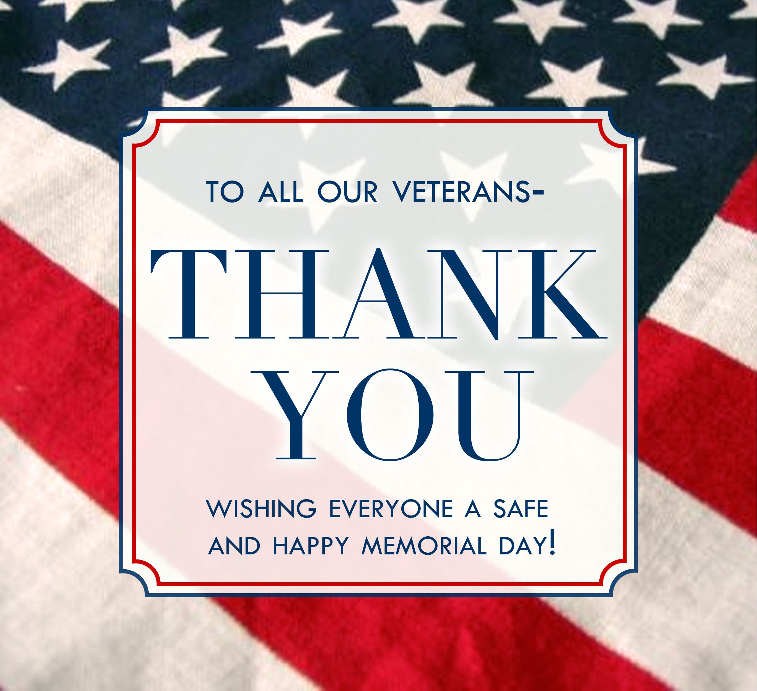 Boxhill Wishes To Thank All Of Our Veterans For Their
