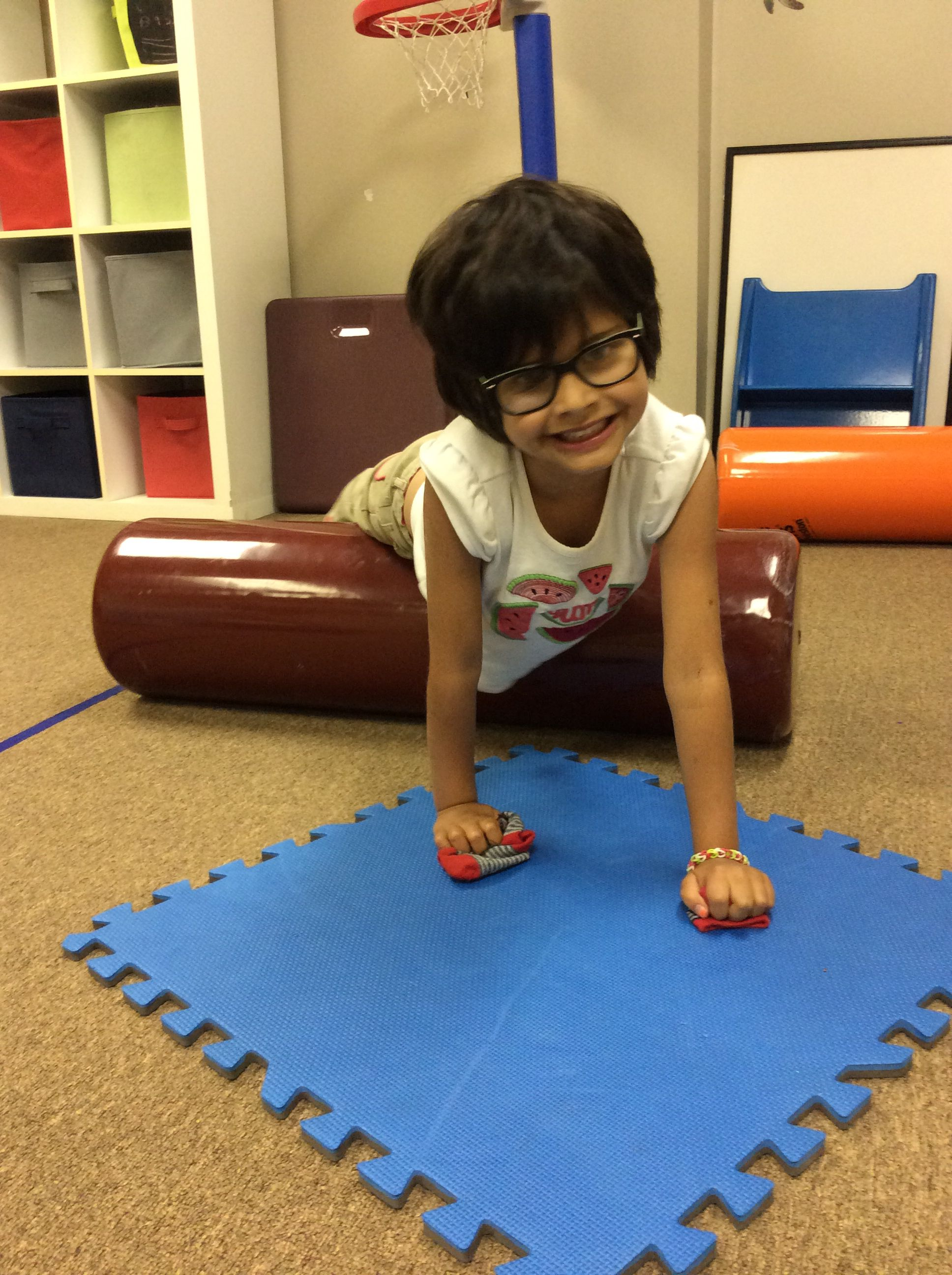 Weight Bearing Activities To Increase Upper Extremity Strength And Control