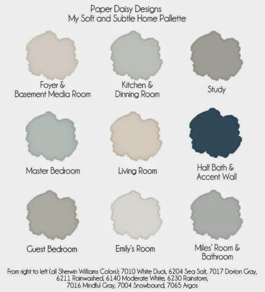 Image Result For Gray Green Color Palette Whole House