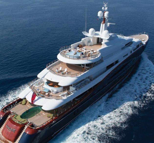 Oceanco Nirvana Yacht By Headlines Amp Heroes Boats I