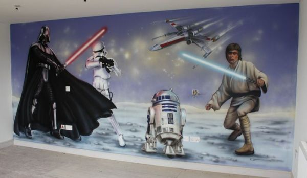 Professional Wall Murals, Airbrushed Murals and other ...