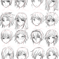 How to draw anime hairstyles for girls guy hairstyles by aiiluv