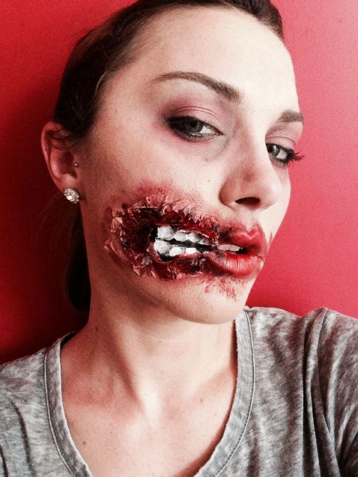 Zombie makeup halloween Pinterest Zombie makeup Makeup and