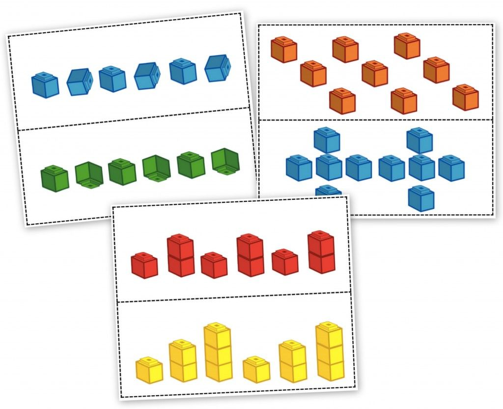Unifix Cubes Print Amp Play Patterning Learning Centers