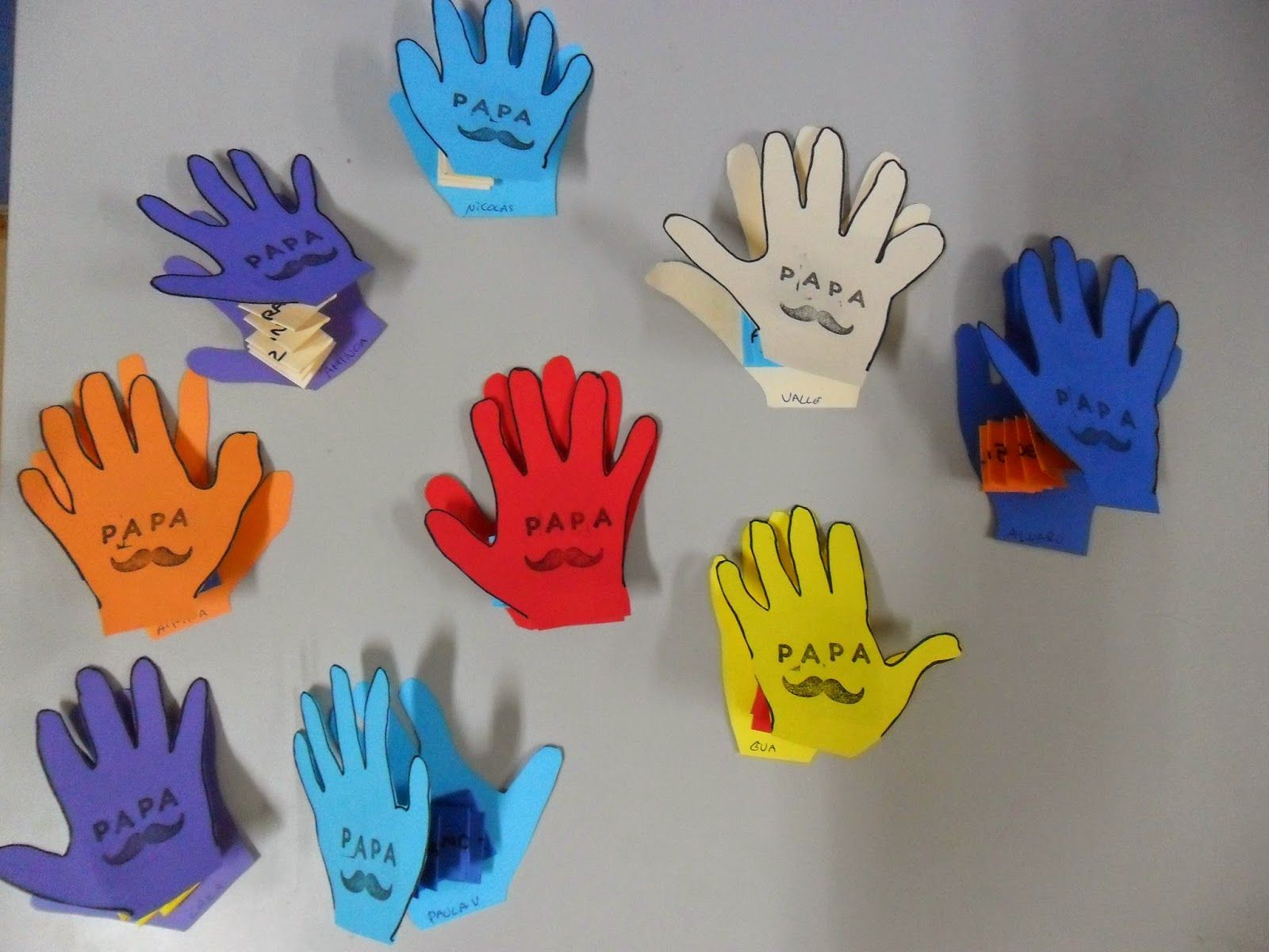 Materiales Para Educacion Infantil Dia De Los Padres