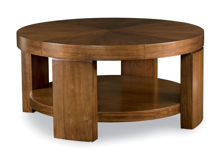 Round Cocktail Table Bernhardt For the Home Coffee and End