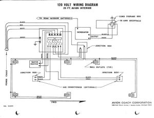 Avion 120 VAC Wiring Diagram | 196x avions | Pinterest