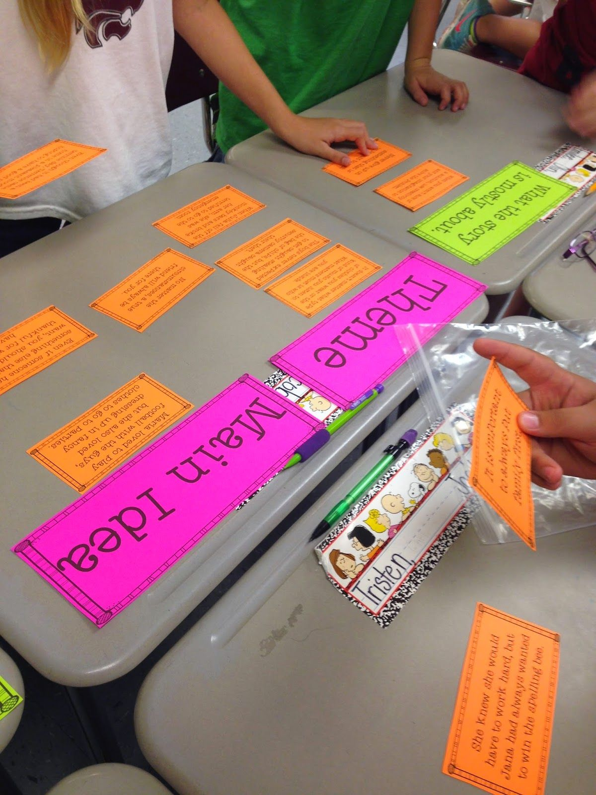 Life In Fifth Grade Teaching Theme