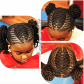 Cute by kiabia blackhairinformationhairstyle