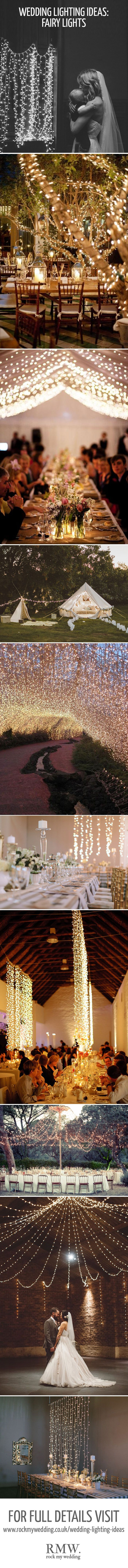 Gorgeous Feature Lighting Ideas For Your Wedding Day  Fairy