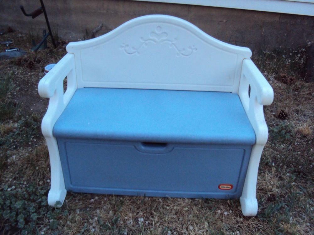 Rare Vintage Big Little Tikes Blue Amp White Victorian Toy