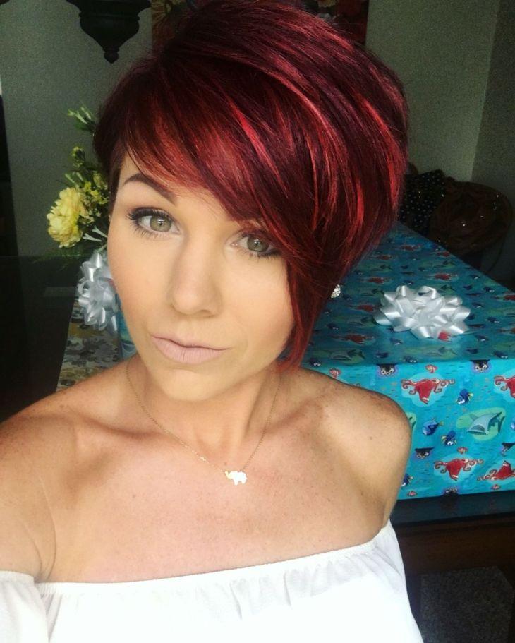 redhair pixie shorthair Hair Pinterest Pixies Hair style
