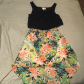 Tropical floral highlow dress flowy tops high low and emeralds