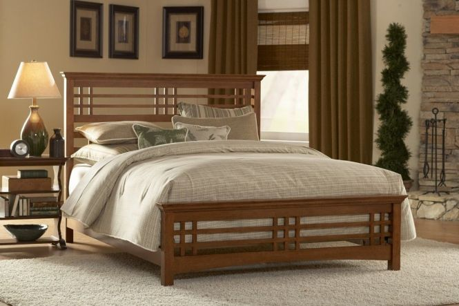 Traditional Wooden Bed Design Ideas With Awesome Wood Bedroom