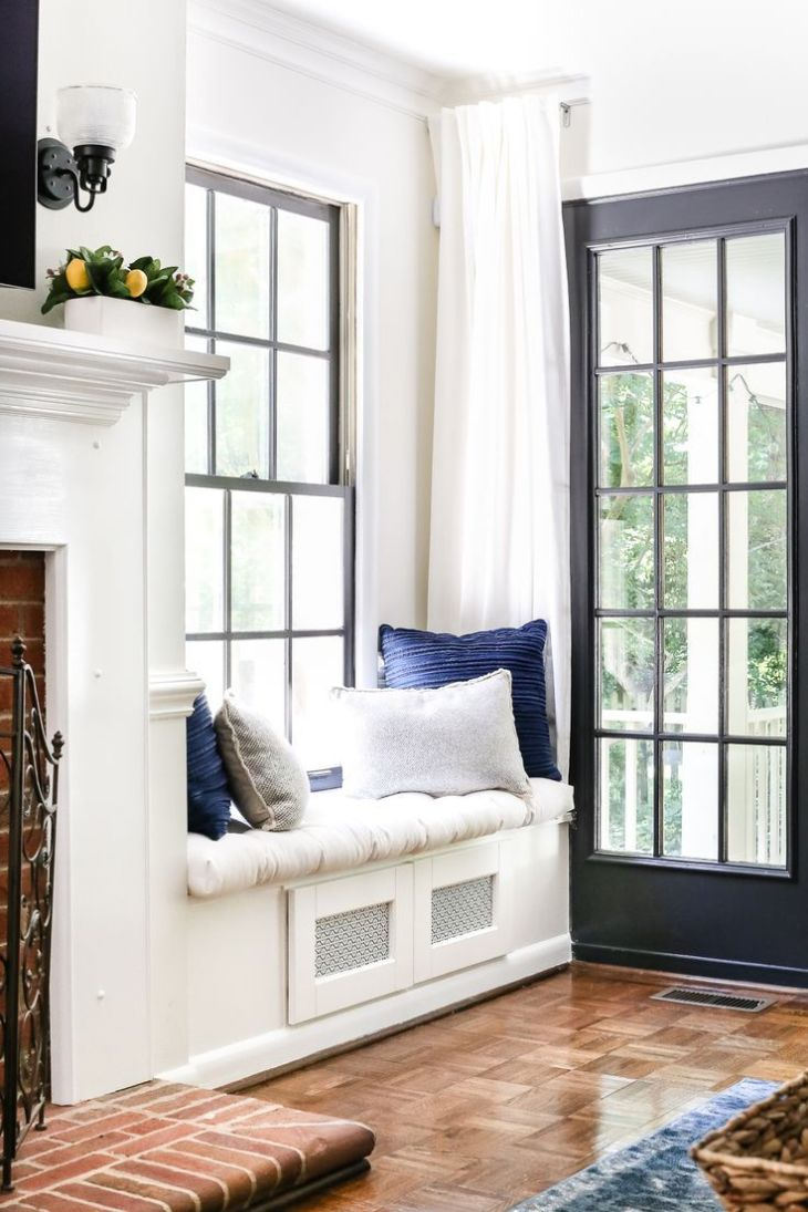 DIY Window Seat From a Kitchen Cabinet  Window Kitchens and House