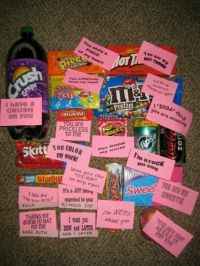 valentine sayings for candy
