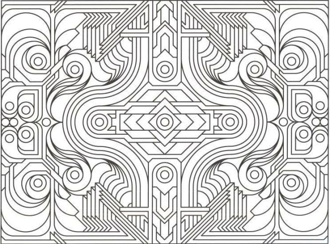 Image Result For Free Printable Coloring Pages S Geometric