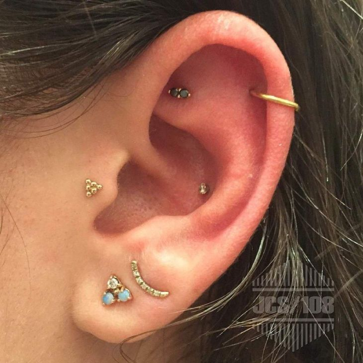 J Colby Smith piercing NYAdorned  I need new tragus jewelry and