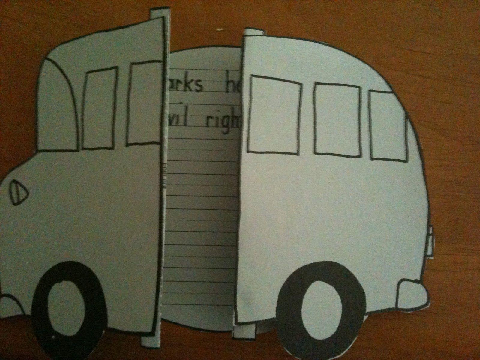 Rosa Parks Bus Activities