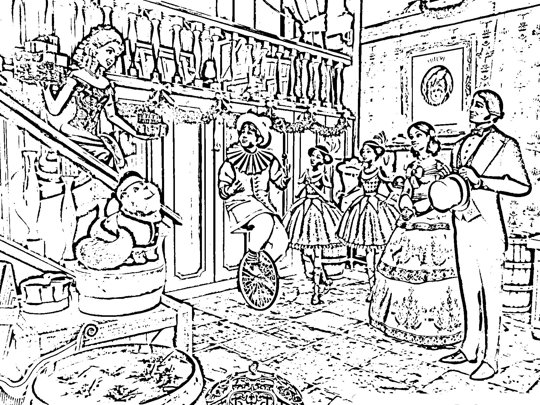 Dickens Christmas Carol Coloring Pages We And Stars