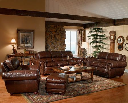 Brown Leather Sofa Decorating Ideas Room With Furniture House Design