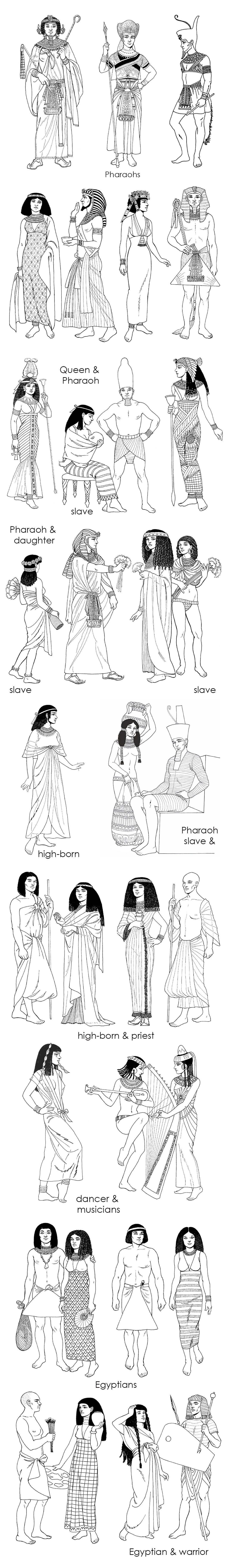 Pharaoh Queen Slave Egyptians Egypt