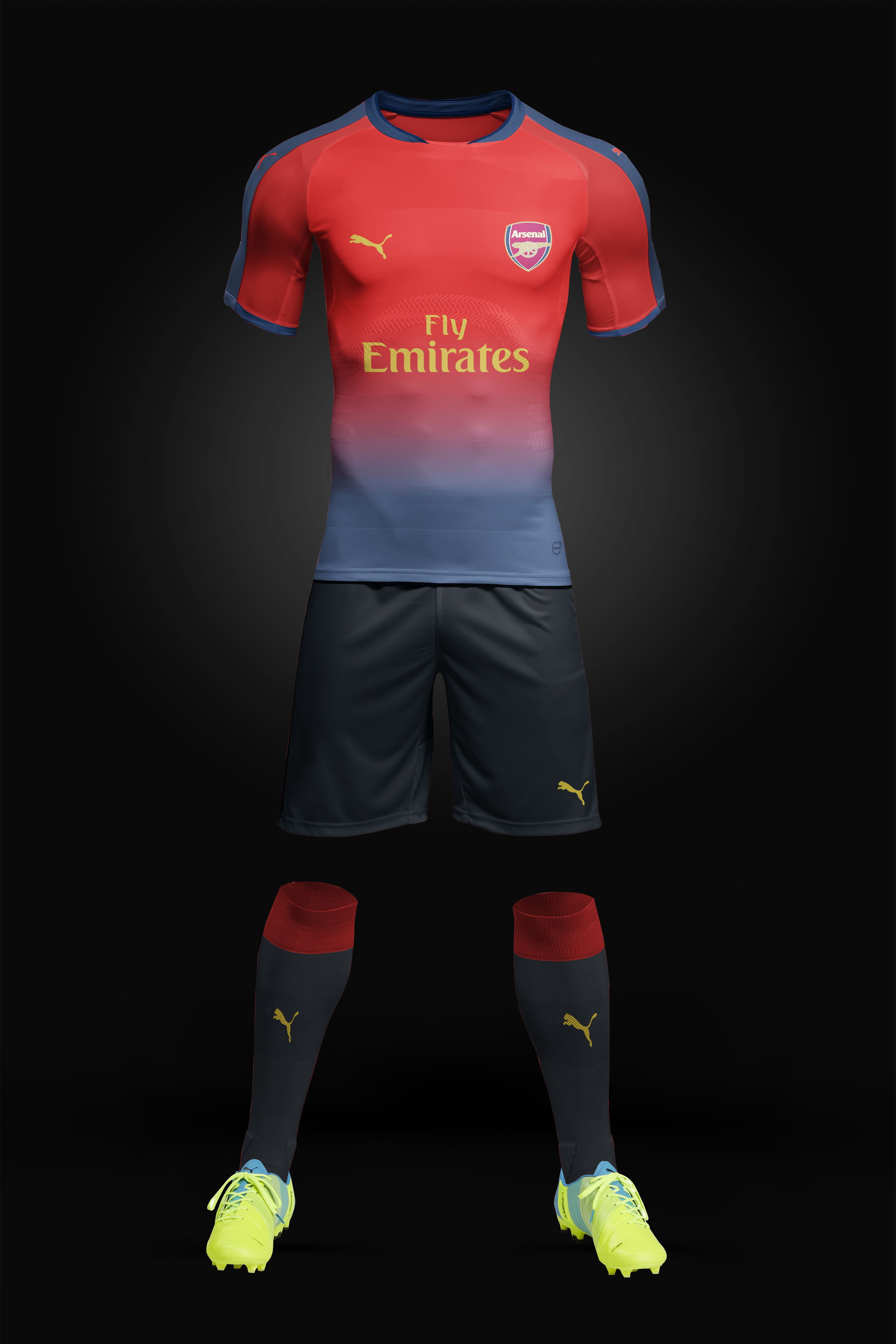 Arsenal Football Kit Concept Designed By Me Football