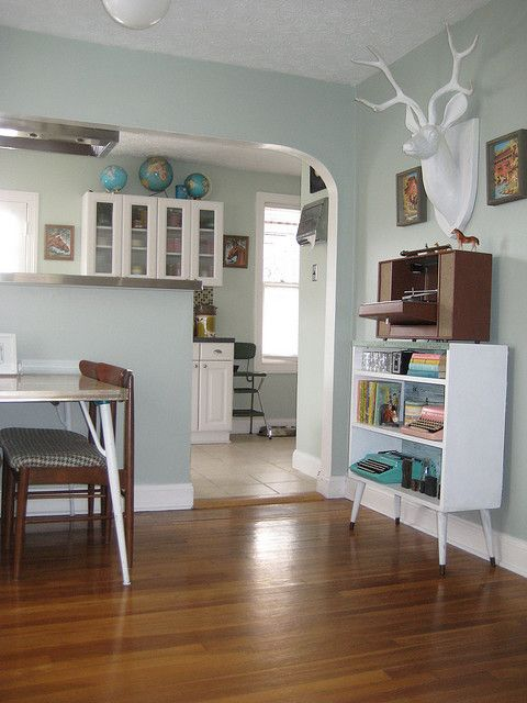 this wall color white trim same floors silver sage on home depot wall paint colors id=30708