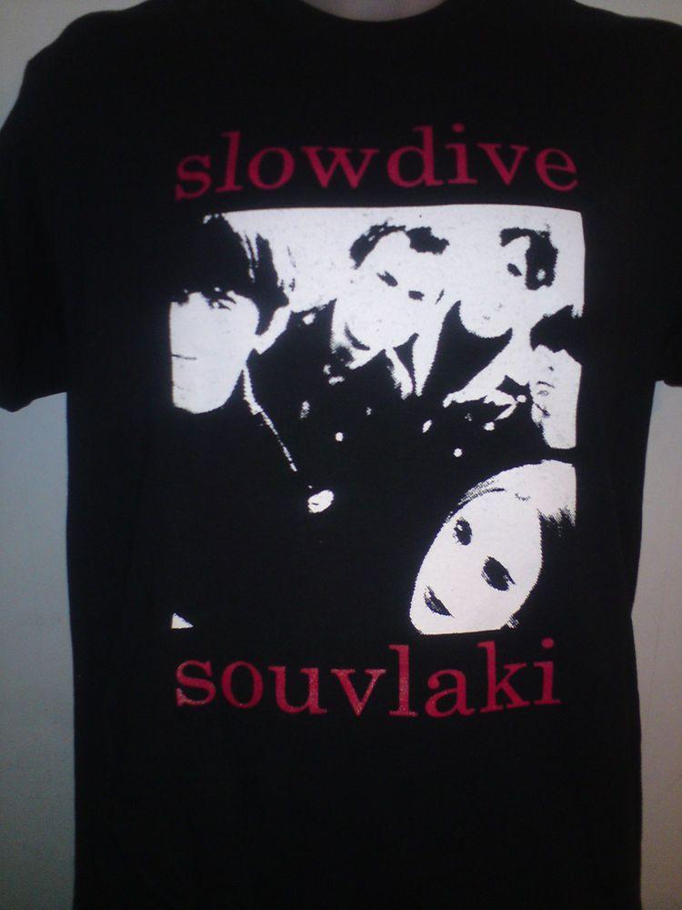 Details About SLOWDIVE SOUVLAKI SHIRT Creation Records My