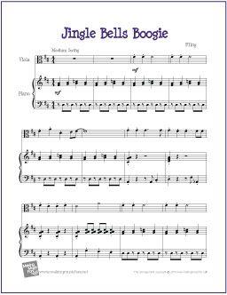 Jingle Bells Boogie | Sheet Music for Viola - http ...