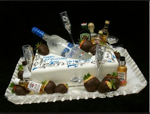 For The One Who Love Alcohol 《 Cakes 》 Pinterest