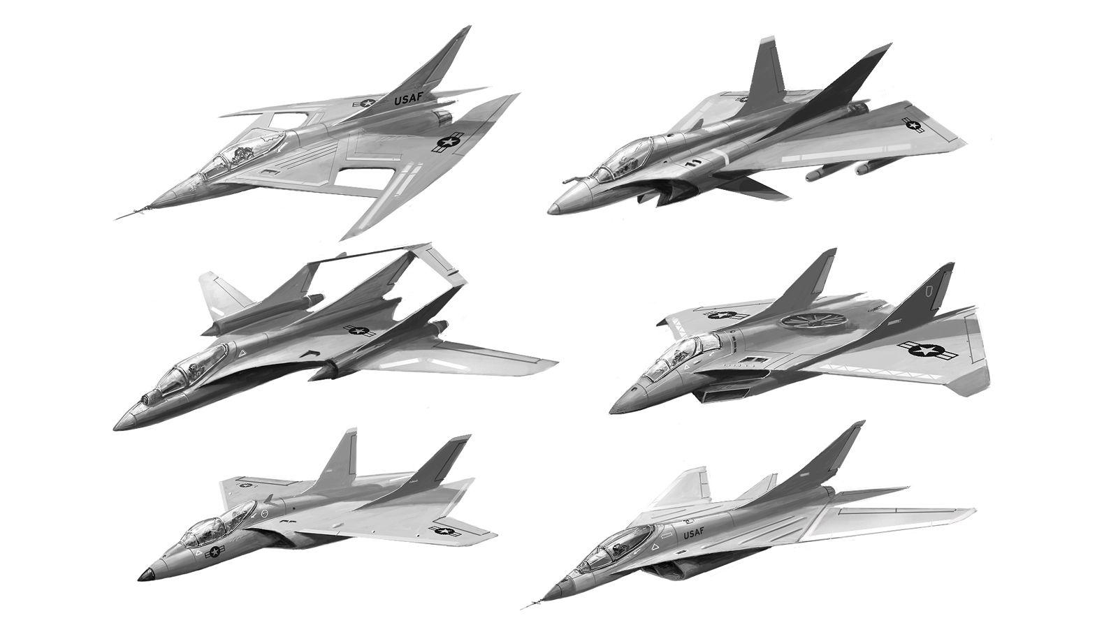 Aircraft Concepts By Alex Ichimviantart On