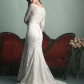 Wedding dress street clothes bustle and size