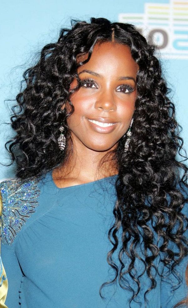 Nice Black Curly Weave Hairstyles For Black Women